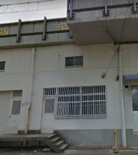 関西本線 東部市場前~天王寺駅間高架下 天王寺2区6号(高架番号:258号)